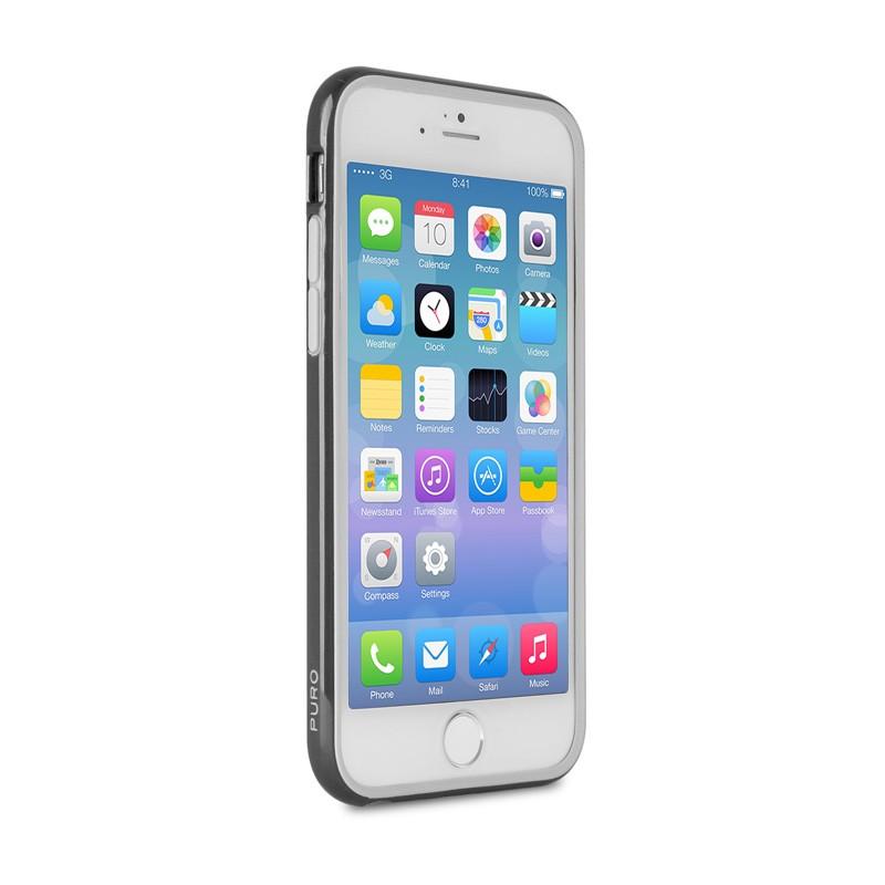 Puro Bumper Case iPhone 6 Plus Black - 4