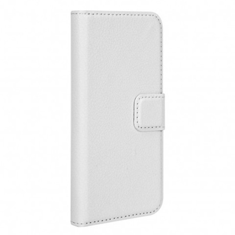 Xqisit - Slim Wallet Case iPhone SE / 5S / 5 White 01