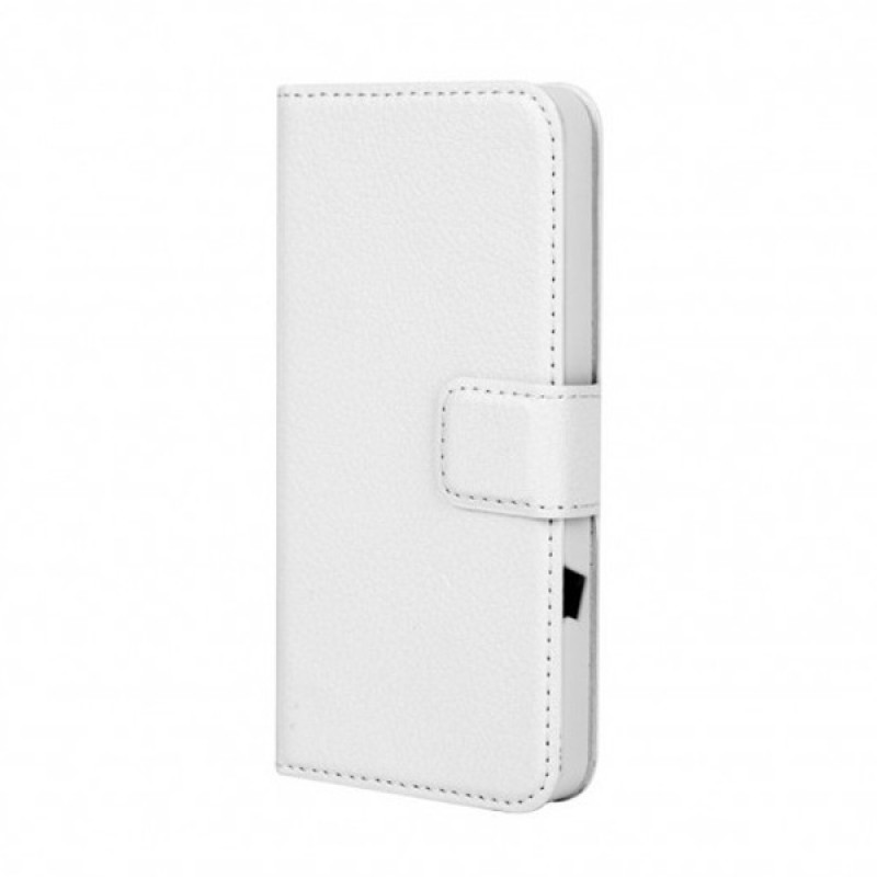 Xqisit - Slim Wallet Case iPhone SE / 5S / 5 White 04