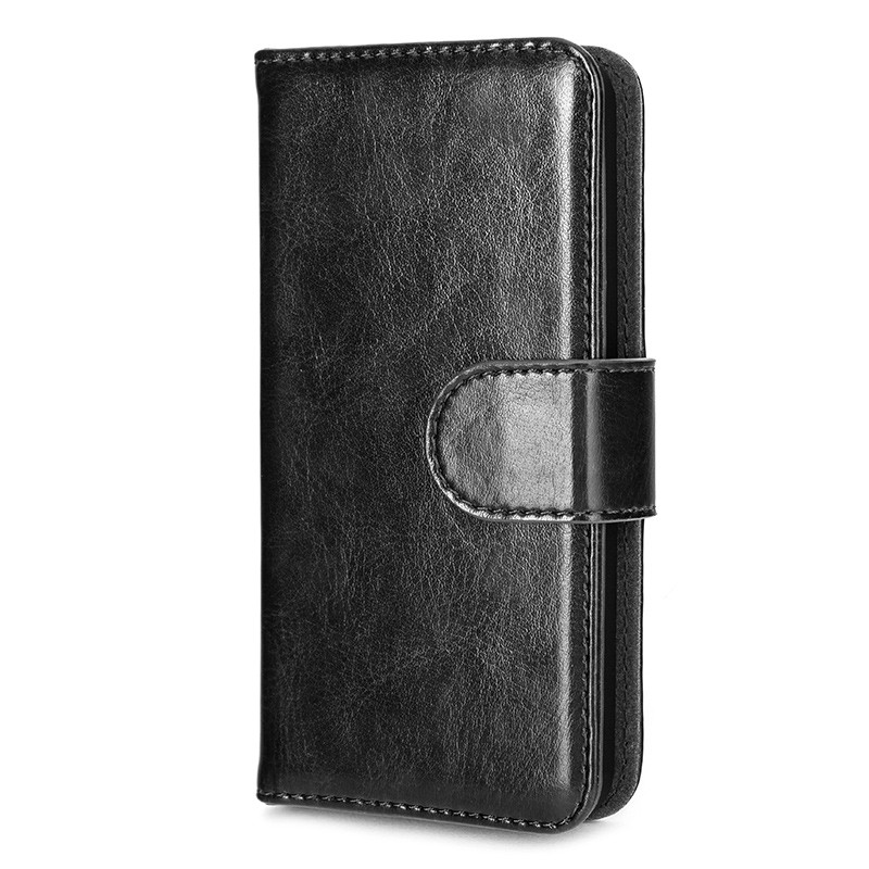 Xqisit - Wallet Case Eman iPhone SE / 5S / 5 Black 04