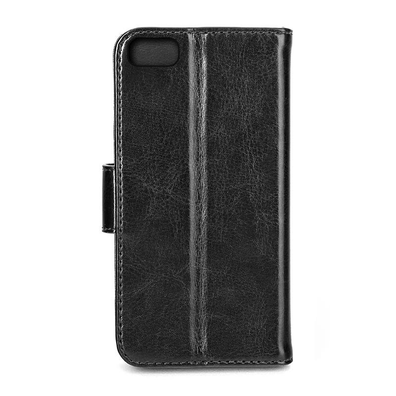 Xqisit - Wallet Case Eman iPhone SE / 5S / 5 Black 03