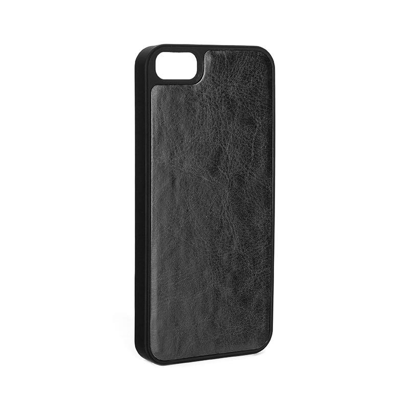 Xqisit - Wallet Case Eman iPhone SE / 5S / 5 Black 08