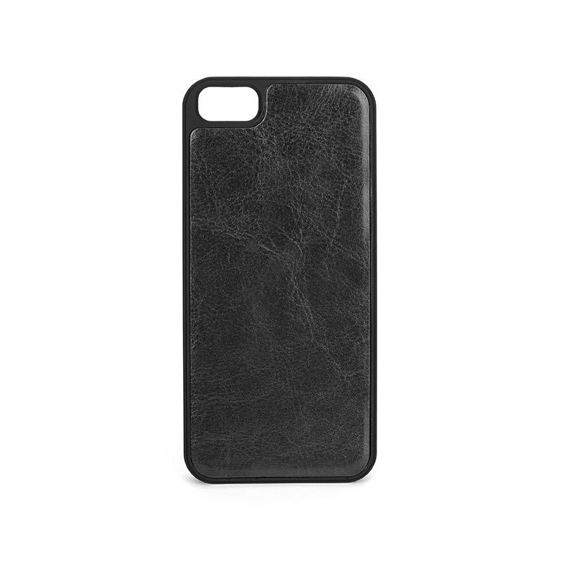 Xqisit - Wallet Case Eman iPhone SE / 5S / 5 Black 09