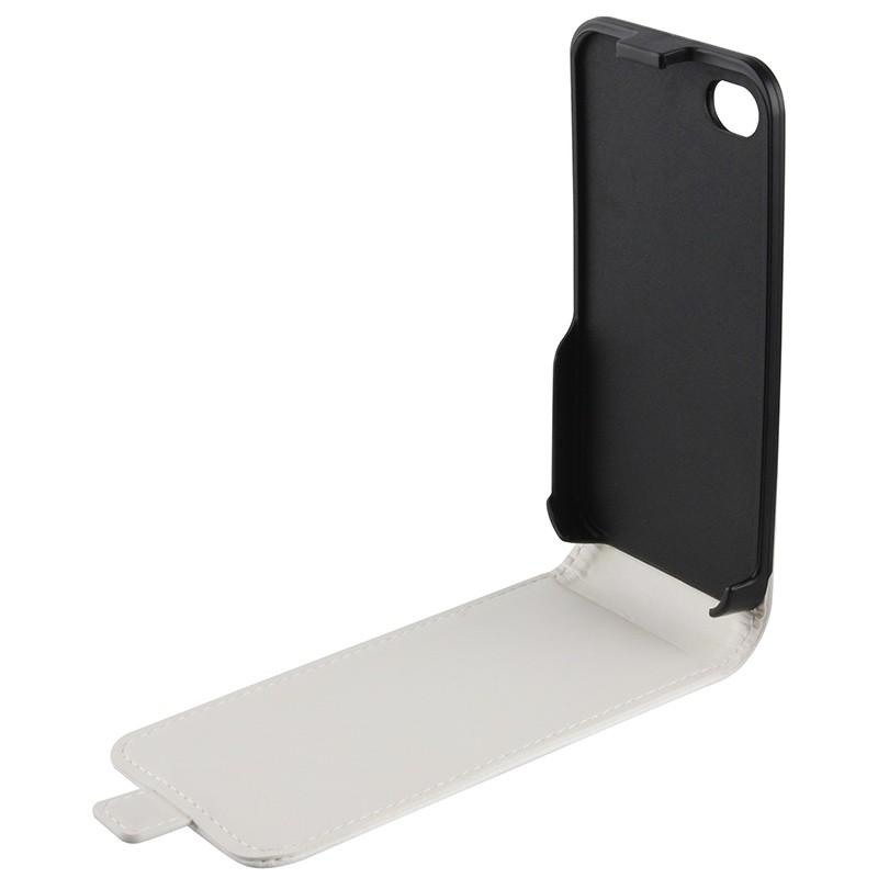 Xqisit - FlipCover iPhone 4/4S White 05