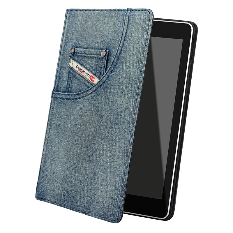Diesel - Paddy Folio Hoes iPad Air Denim Blue 01