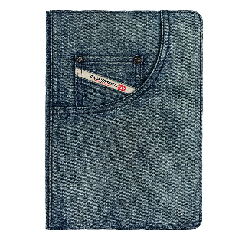 Diesel - Paddy Folio Hoes iPad Air Denim Blue 02