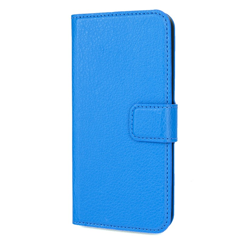 Xqisit - Slim Wallet Case iPhone SE / 5S / 5 Blue 05