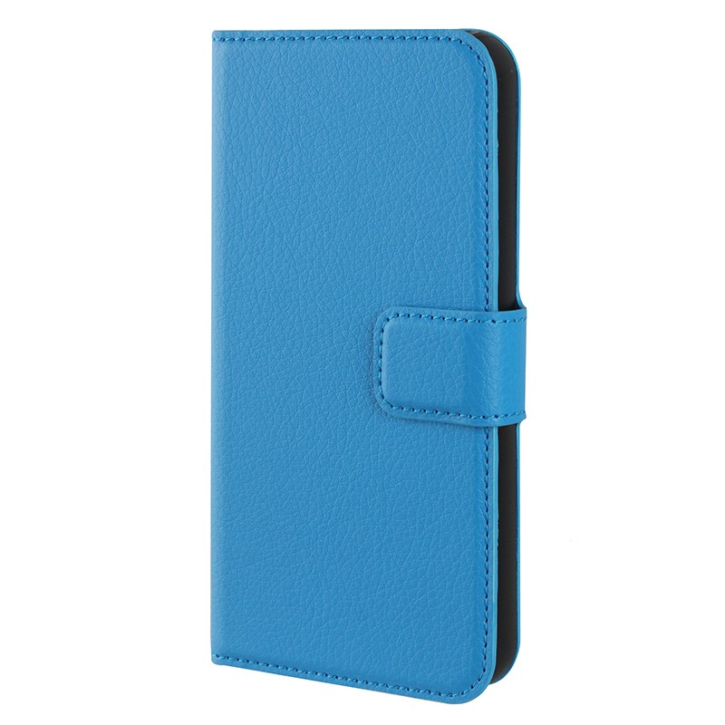 Xqisit - Slim Wallet Case iPhone SE / 5S / 5 Blue 04