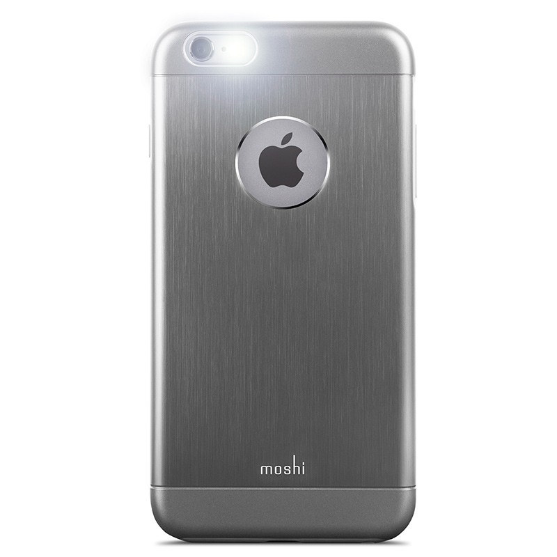 Moshi - iGlaze Armour iPhone 6 Plus / 6S Plus Grey 04