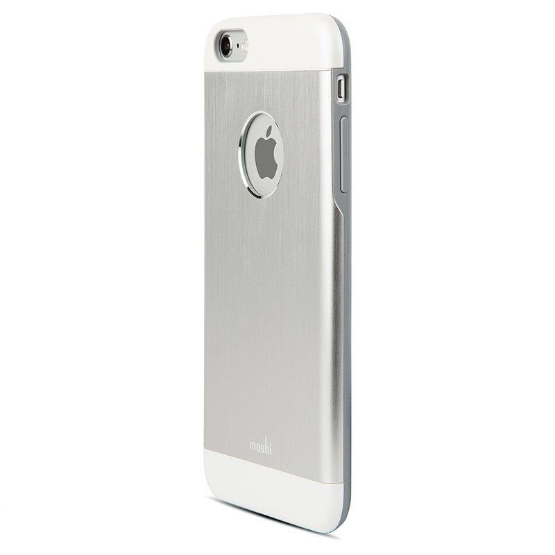 Moshi - iGlaze Armour iPhone 6 Plus / 6S Plus Silver 02
