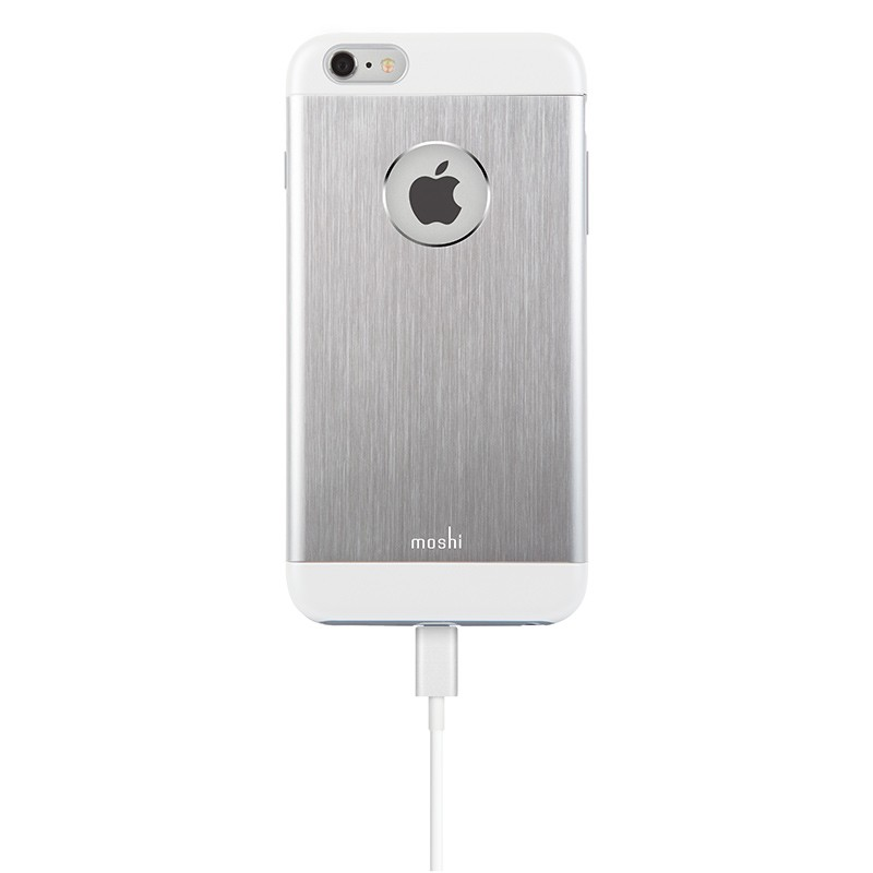 Moshi - iGlaze Armour iPhone 6 Plus / 6S Plus Silver 05