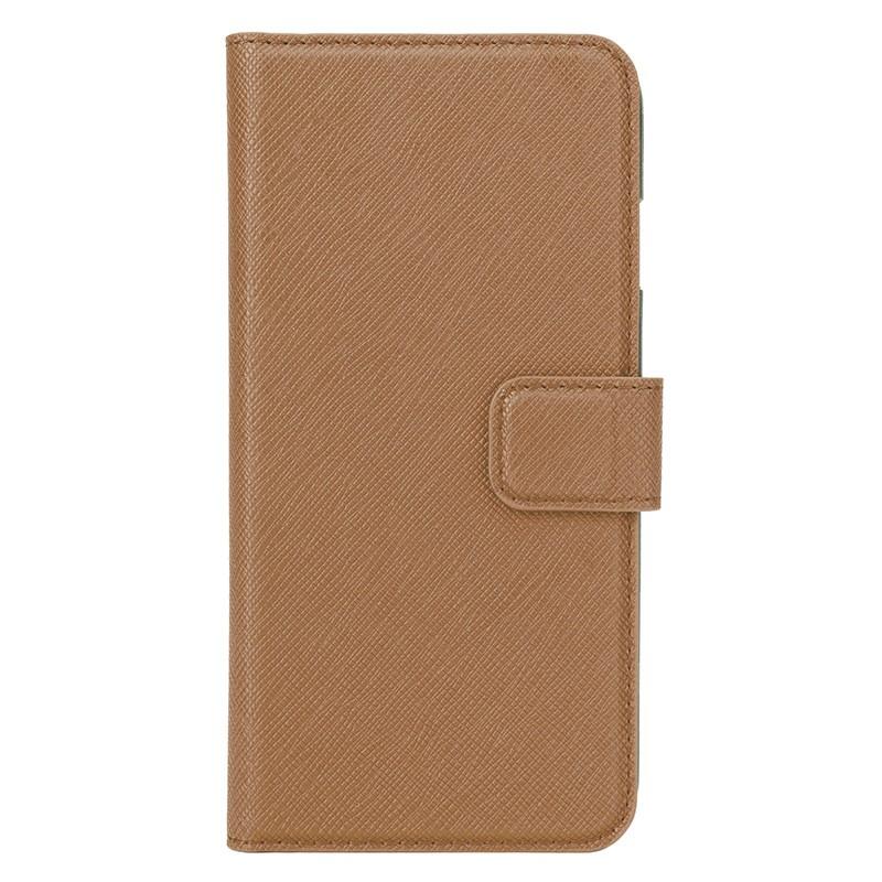 Xqisit - Wallet Case Viskan iPhone 6 / 6S Brown 02