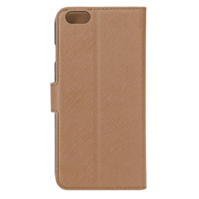 Xqisit - Wallet Case Viskan iPhone 6 / 6S Brown 04