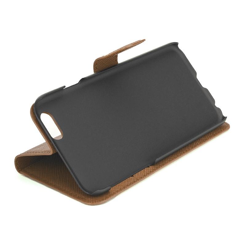 Xqisit - Wallet Case Viskan iPhone 6 / 6S Brown 05
