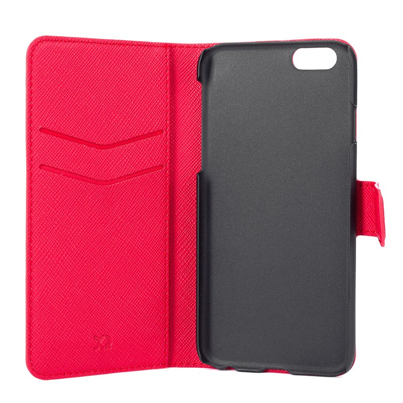 Xqisit - Wallet Case Viskan iPhone 6 / 6S Red 05
