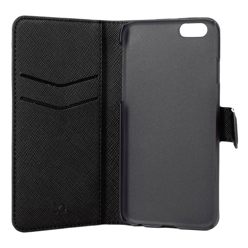 Xqisit - Wallet Case Viskan iPhone 6 / 6S Black 06