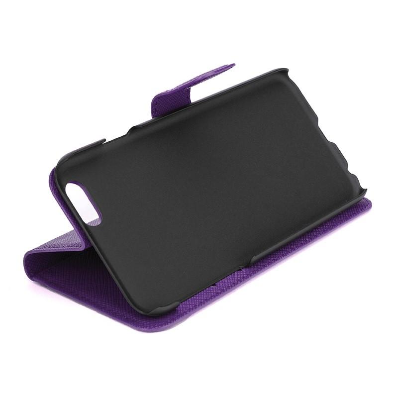 Xqisit - Wallet Case Viskan iPhone 6 / 6S Purple 01