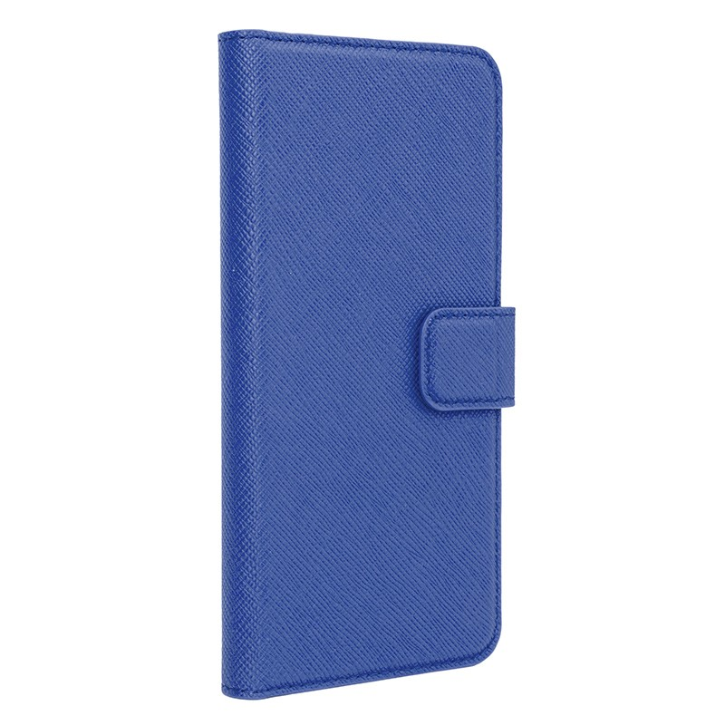 Xqisit - Wallet Case Viskan iPhone 6 / 6S Blue 01