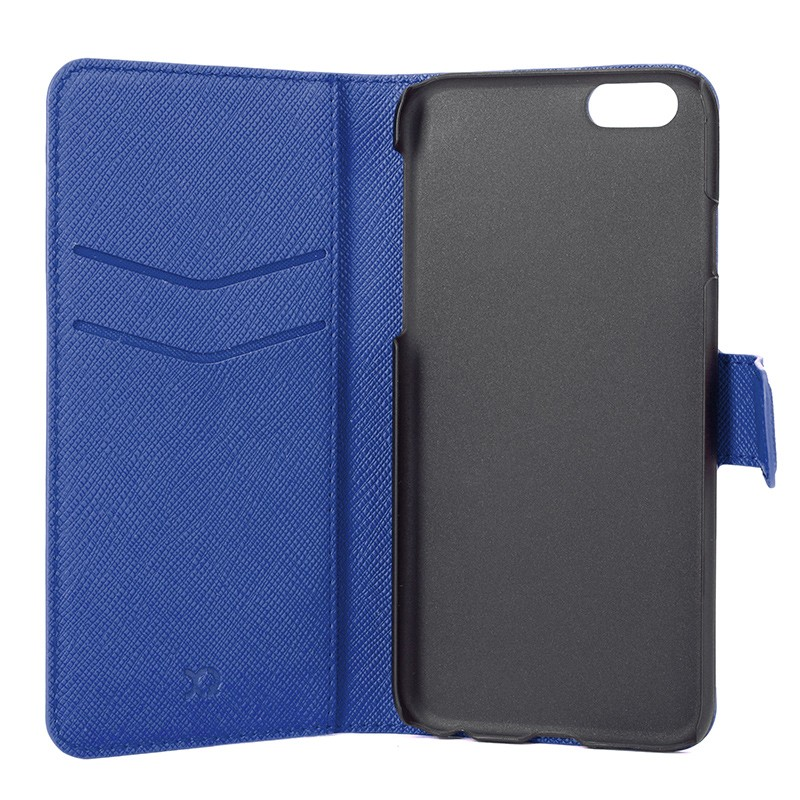 Xqisit - Wallet Case Viskan iPhone 6 / 6S Blue 06