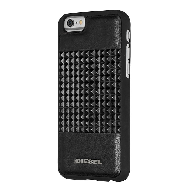 Diesel - Moulded Snap Case iPhone 6 / 6S Black studs 01