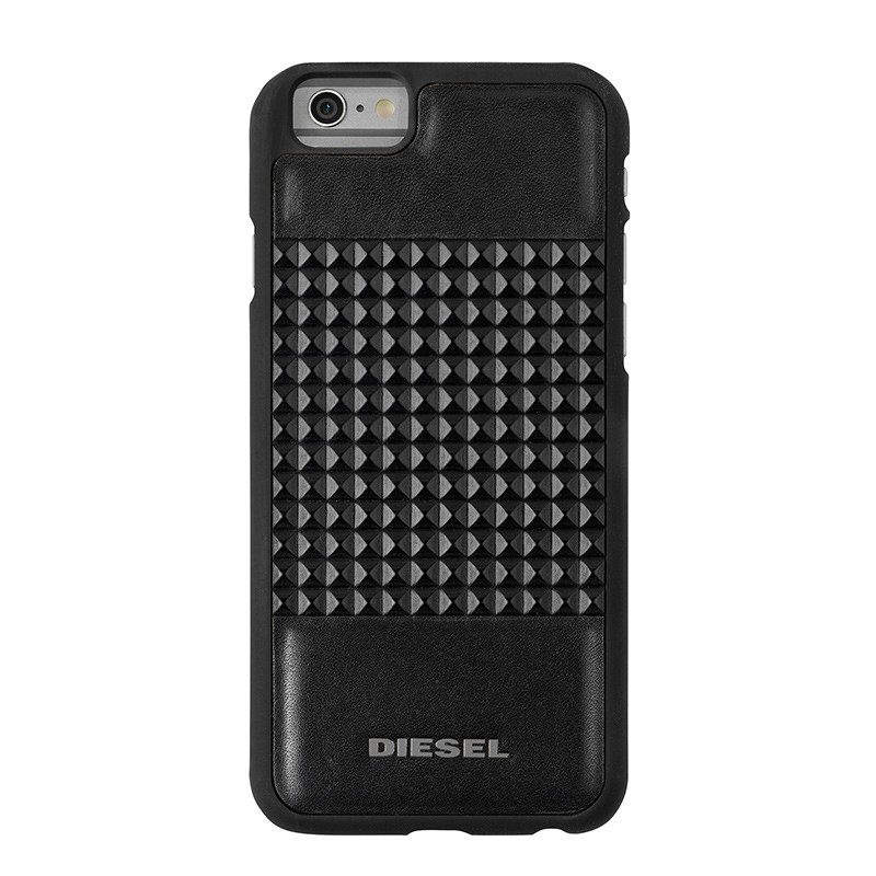Diesel - Moulded Snap Case iPhone 6 / 6S Black studs 02