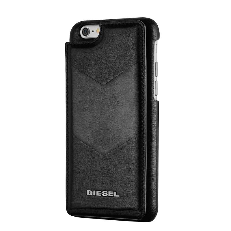 Diesel - Moulded Flip Case iPhone 6 / 6S V style Black 03