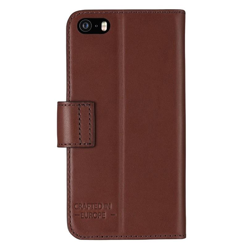 Bugatti - Book Case Milano iPhone SE/5S/5 Brown 02