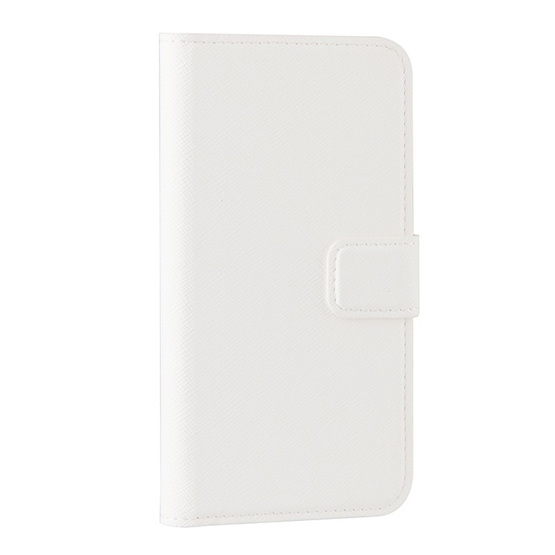 Xqisit - Wallet Case Viskan iPhone SE / 5S / 5 white 01
