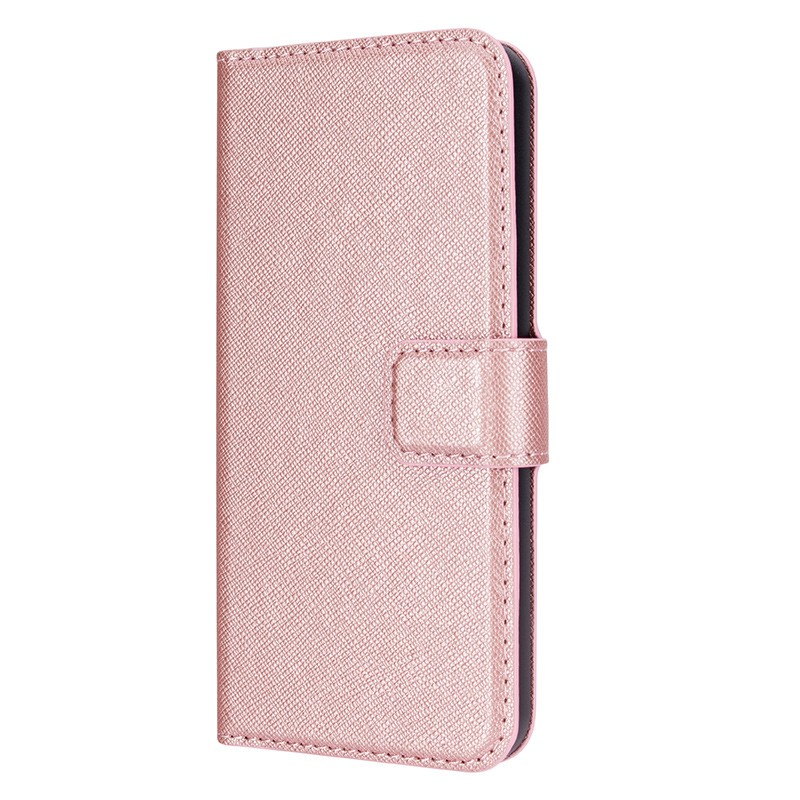 Xqisit - Wallet Case Viskan iPhone SE / 5S / 5 Pink  04