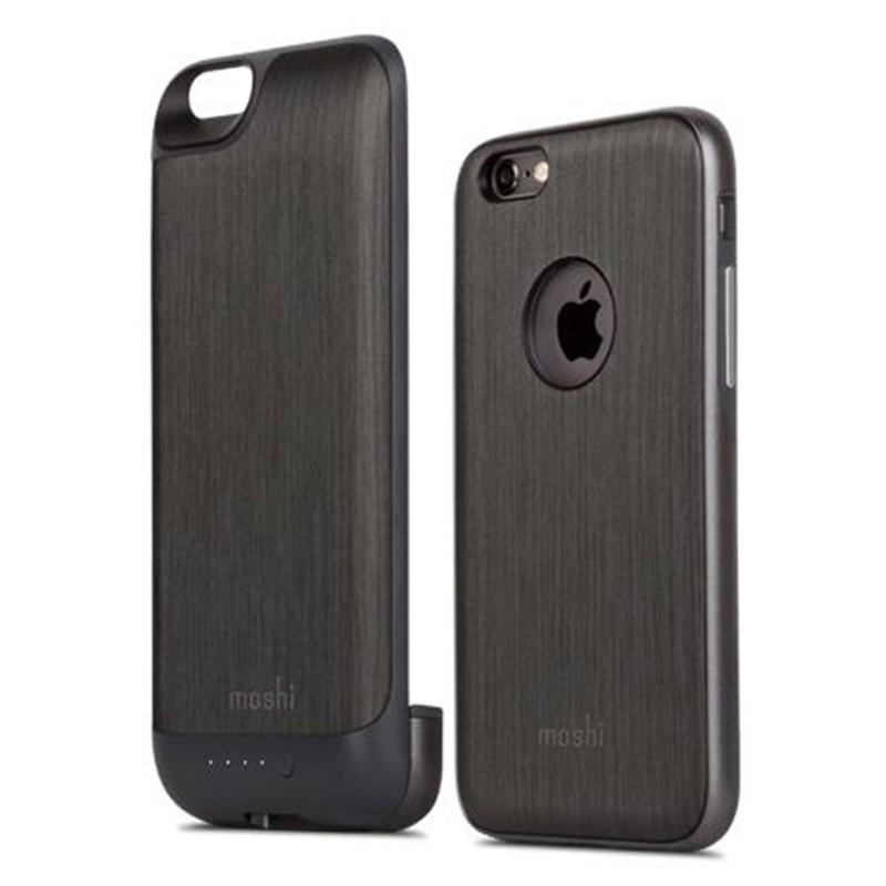 Moshi - iGlaze Ion Batterij Case iPhone 6 / 6S Black 01