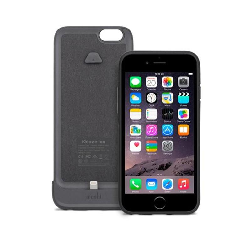 Moshi - iGlaze Ion Batterij Case iPhone 6 / 6S Black 02