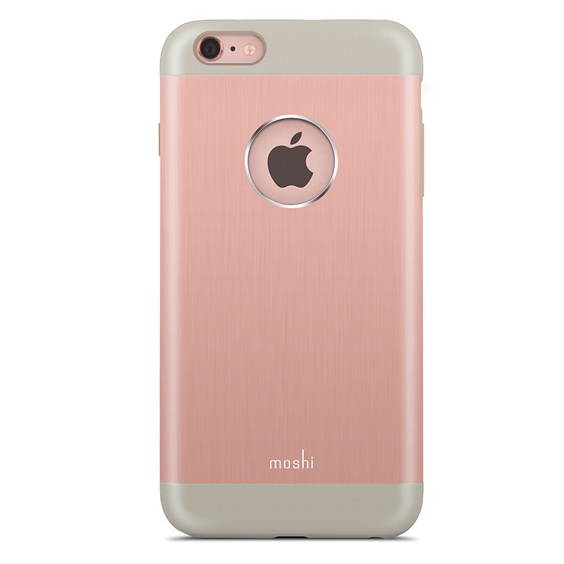Moshi - iGlaze Armour iPhone 6 Plus / 6S Plus Rose Pink 02