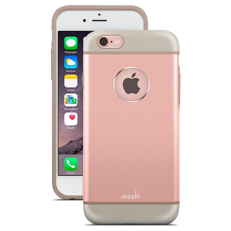 Moshi - iGlaze Armour iPhone 6 / 6S Rose Pink 01