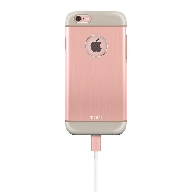 Moshi - iGlaze Armour iPhone 6 / 6S Rose Pink 06