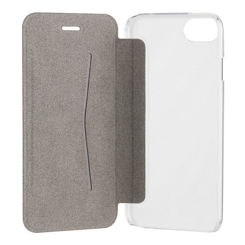 Xqisit Flap Cover Adour iPhone 7 hoes zwart 07