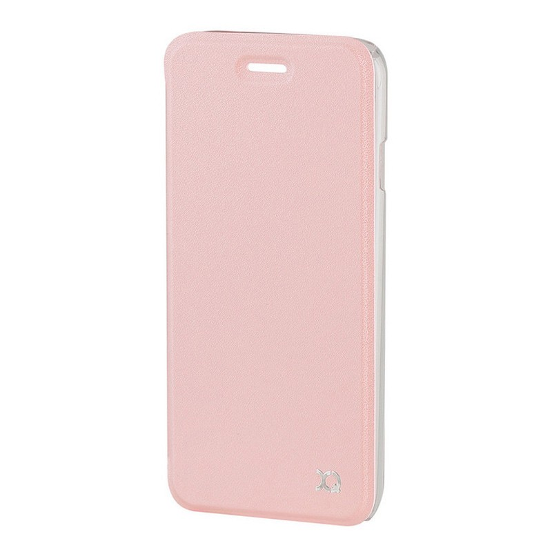Xqisit Flap Cover Adour iPhone 7 hoes RoseGold 03