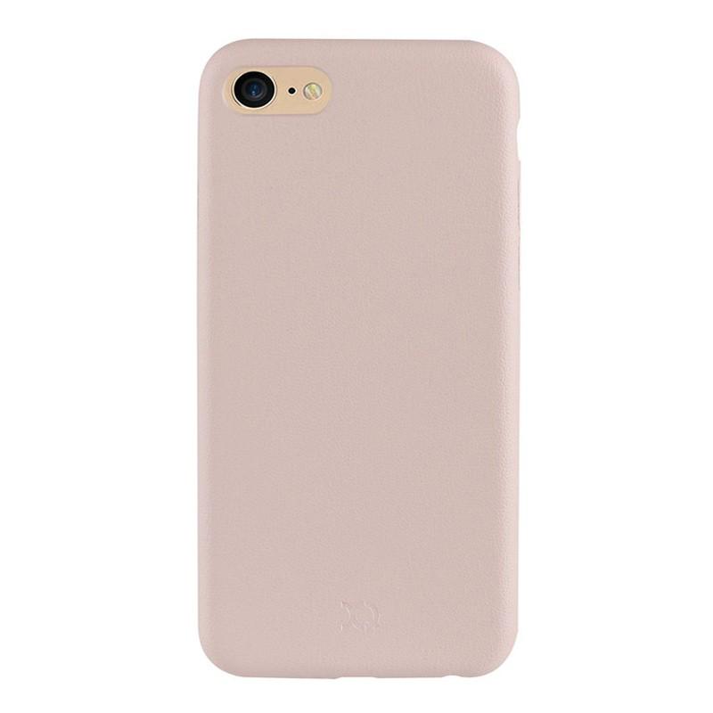 Xqisit iPlate Gimone iPhone 7 hoes beige 02