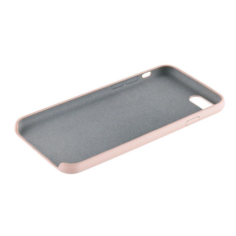 Xqisit iPlate Gimone iPhone 7 hoes beige 04