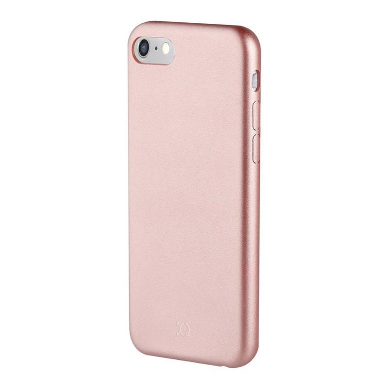 Xqisit iPlate Gimone iPhone 7 hoes RoseGold 01