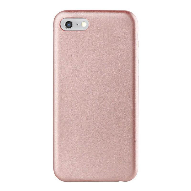 Xqisit iPlate Gimone iPhone 7 hoes RoseGold 02