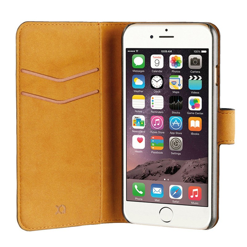 Xqisit Slim Wallet Selection iPhone 7 zwart 01