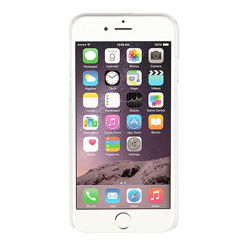 Xqisit iPlate Glossy iPhone 7 clear 04