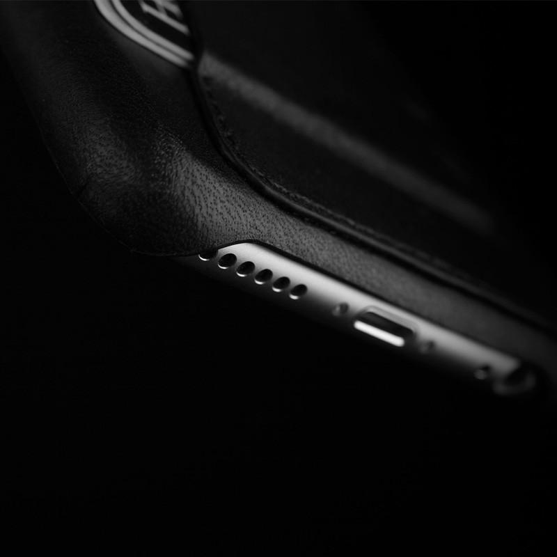 Mujjo Leather Wallet Case 80 iPhone 6 Black - 6