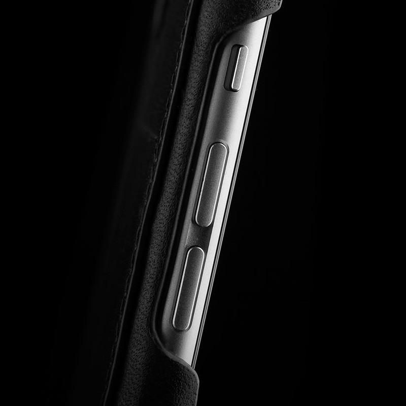 Mujjo Leather Wallet Case 80 iPhone 6 Black - 9