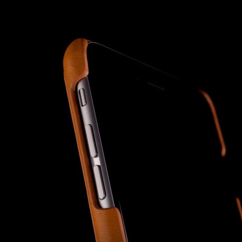 Mujjo Leather Wallet Case 80 iPhone 6 Tan - 7