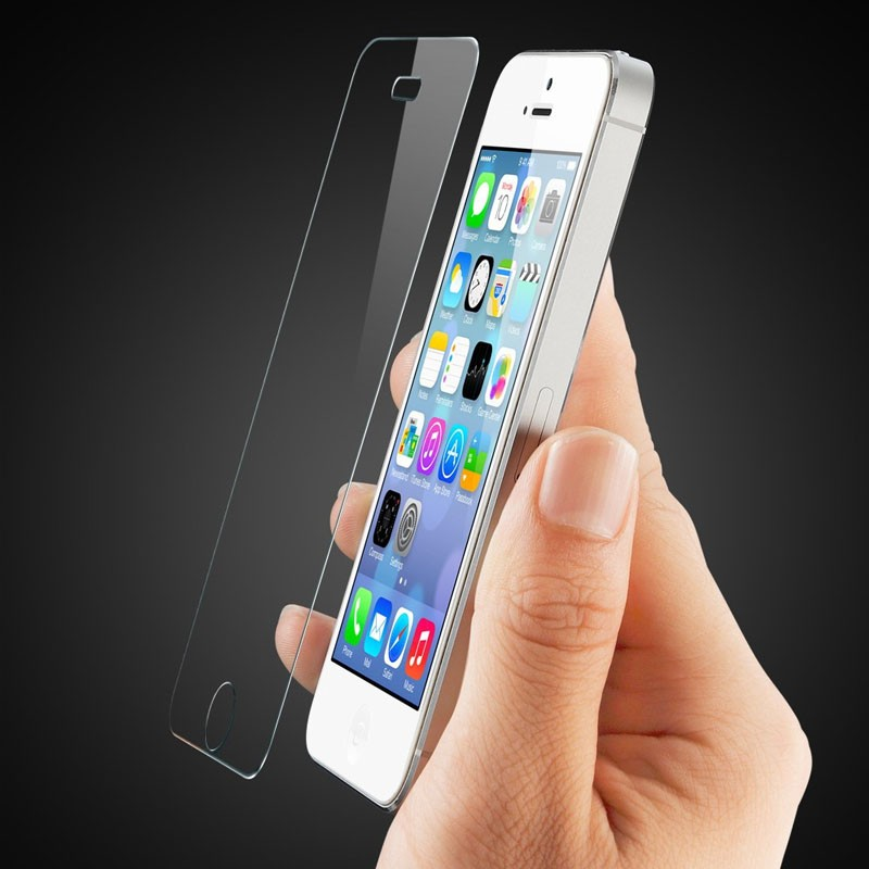 Mobiq - Glazen Screenprotector iPhone 4 / 4S - 2