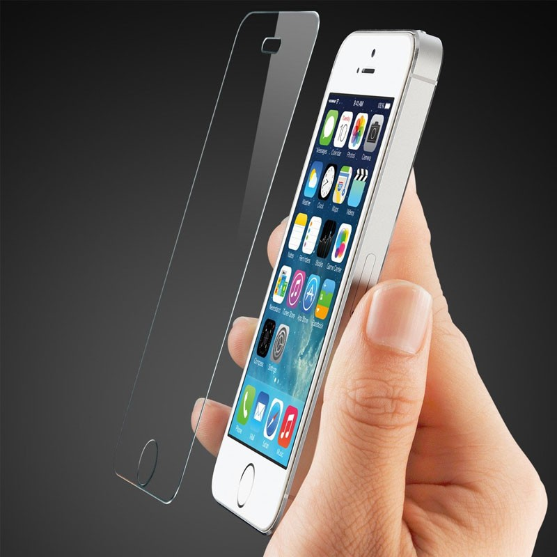 Mobiq - 9H Tempered Glass Screenprotector iPhone 5/5S/5C - 2