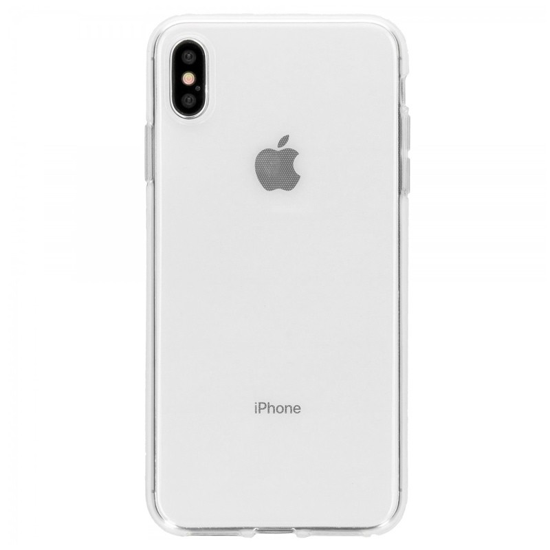 Accezz Transparant TPU Hoesje iPhone XS Max Clear 01