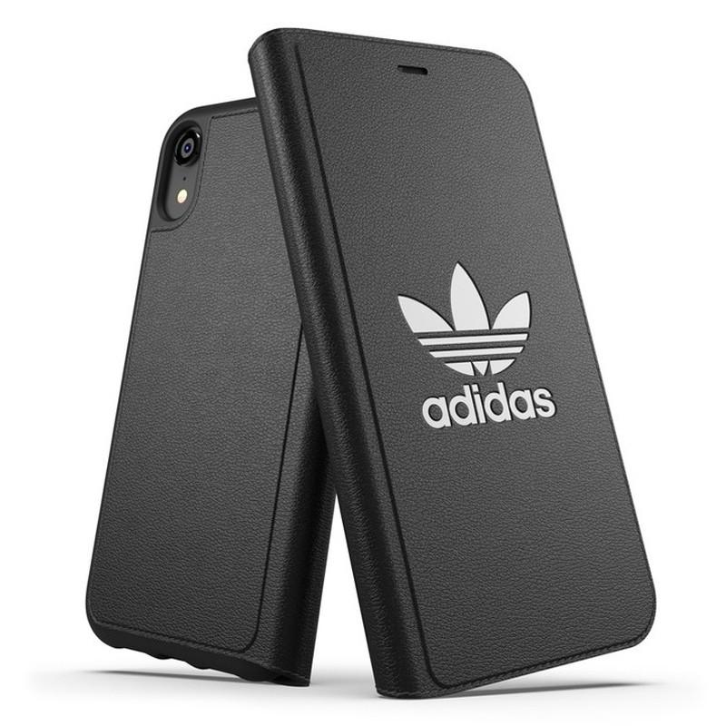 Adidas Originals Booklet Case iPhone XR Zwart 01