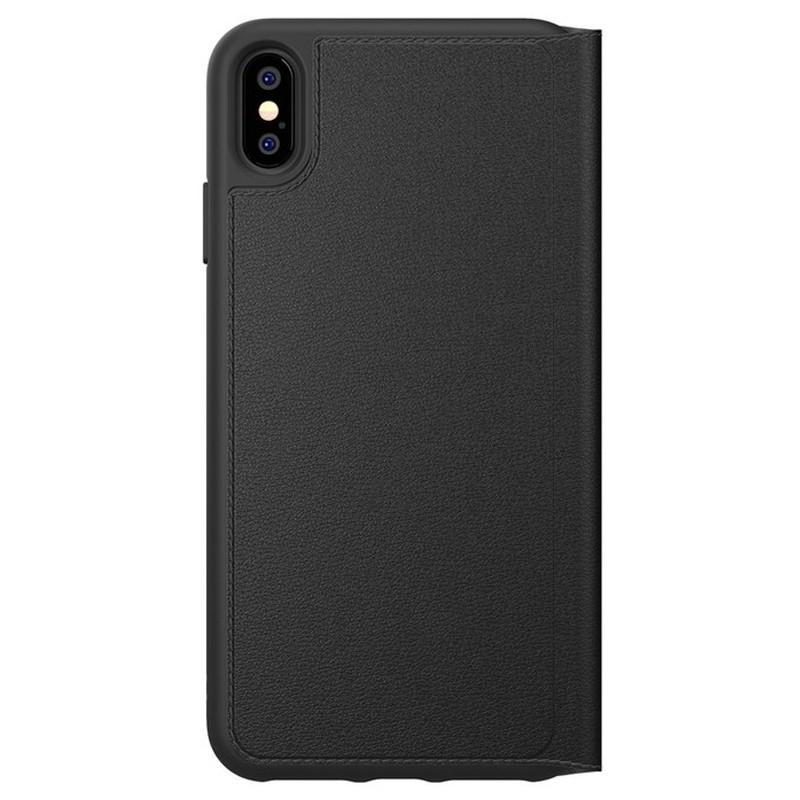 Adidas Booklet Case iPhone Xs Max zwart 02